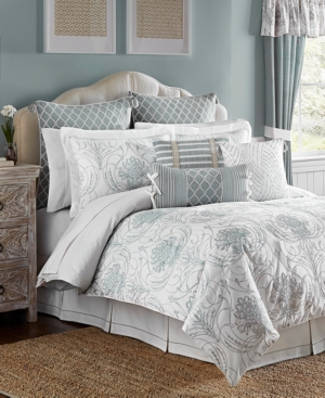 Croscill Eleyana 4Pc King Comforter Set Bedding