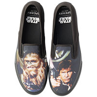 Sperry Star Wars Women's Slip-On Sneakers (Black)