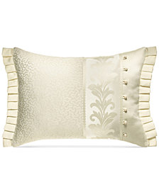 "J Queen New York Marquis 20"" x 15"" Boudoir Decorative Pillow"