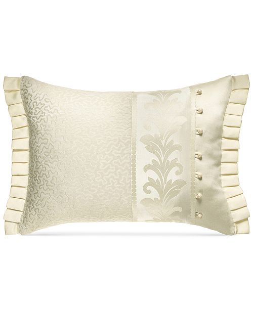 J Queen New York Marquis 40 X 40 Boudoir Decorative Pillow Magnificent Decorative Pillows Nyc