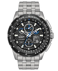 Citizen Eco-Drive Men's Analog-Digital Skyhawk A-T Titanium Bracelet Watch 47mm