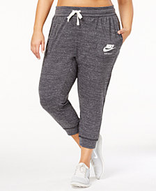 Nike Plus Size Gym Vintage Capri Pants