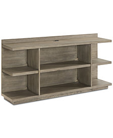 Ridgeway Home Office Peninsula USB Outlet Bookcase, Created for Macy's