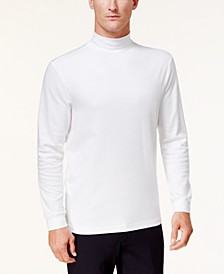 Men's Solid Mockneck Turtleneck Shirt, Created for Macy's