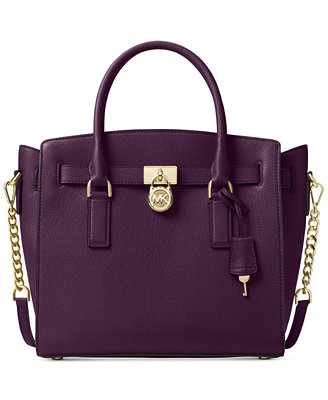 MICHAEL Michael Kors handbags are available in various styles, including shoulder bags, totes, large crossbody bags, leather satchels, and wallets. These products are frequently made from different types of leather in a wide variety of colors and often include the .
