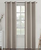 Sun Zero Campus Reversible Fleece-Lined Blackout Grommet Curtain Panel Collection