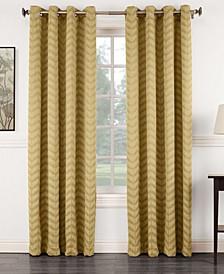 Ramsey Chevron Jacquard Blackout Curtain Collection