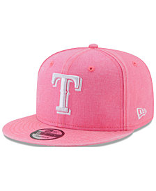 New Era Texas Rangers Neon Time 9FIFTY Snapback Cap