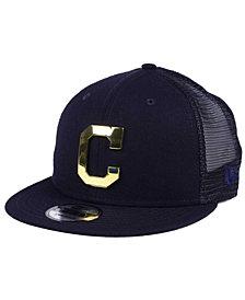 New Era Cleveland Indians Color Metal Mesh Back 9FIFTY Cap