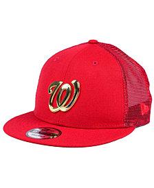 New Era Washington Nationals Color Metal Mesh Back 9FIFTY Cap
