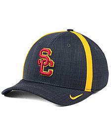 Nike USC Trojans Aerobill Classic Sideline Swoosh Flex Cap