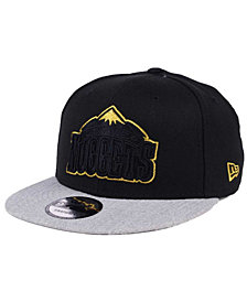 New Era Denver Nuggets Gold Tip Off 9FIFTY Snapback Cap