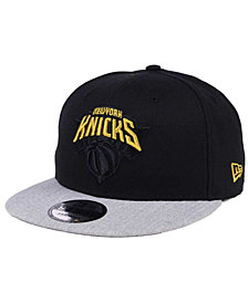 New Era New York Knicks Gold Tip Off 9FIFTY Snapback Cap