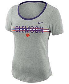 Nike Women's Clemson Tigers Tri Blend Slub T-Shirt