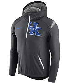 Nike Men's Kentucky Wildcats Fly-Rush Quarter-Zip Hoodie