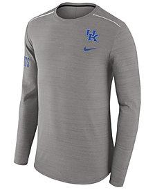 Nike Men's Kentucky Wildcats Dri-Fit Breathe Long Sleeve T-Shirt