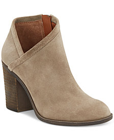 Lucky Brand Women's Salza Block-Heel Booties