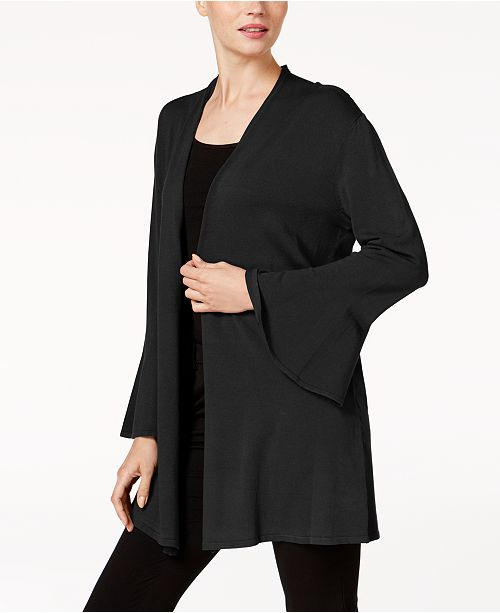 Alfani Petite Ruffled-Sleeve Cardigan, Created for Macy's