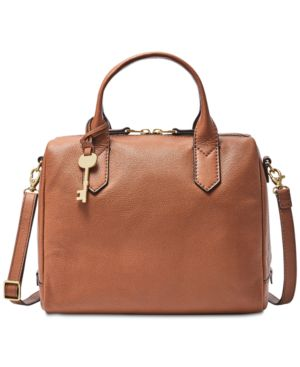 FIONA SMALL LEATHER SATCHEL