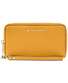 MICHAEL Michael Kors Mercer Large Flat Multi Function Phone Case