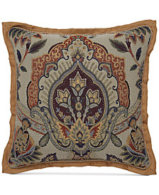 "CLOSEOUT! Croscill Callisto 18"" Square Decorative Pillow"