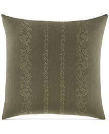 Nador Cotton Embroidered European Sham