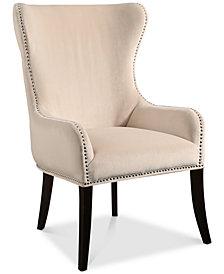 Clemontine Tufted Velvet Chair, Quick Ship