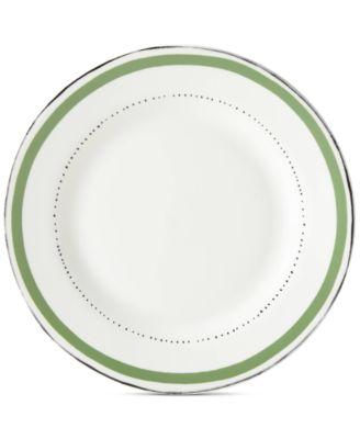 $22.00  sc 1 st  Macy\u0027s & kate spade new york Union Square Green Dinner Plate - Dinnerware ...