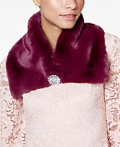 I.N.C. Faux Fur Scarf Collar, Created for Macy's