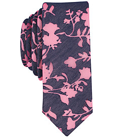 Original Penguin Men's Cresta Floral Skinny Tie