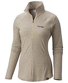 Columbia Women's Purdue Boilermakers Layer First Quarter-Zip Pullover