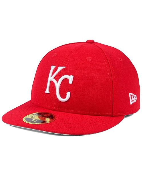 cheaper 81dd3 fd06e ... New Era Kansas City Royals Low Profile C-DUB 59FIFTY Fitted Cap ...
