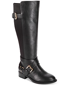 dc0e4f53b313 Thalia Sodi Vada Wide-Width Wide-Calf Riding Boots