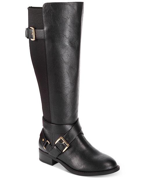 Thalia Sodi Vada Wide Width Wide Calf Riding Boots