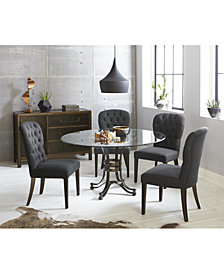 Caspian Round Dining Furniture Collection, Created for Macy's