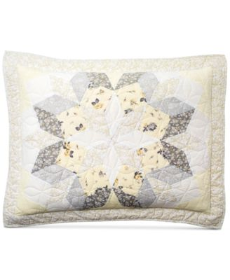 CLOSEOUT! Starburst Quilted Standard Sham, Created for Macy's