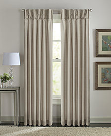 Curtainworks Sandy Cancun Inverted Pleat Backtab Window Panel Collection
