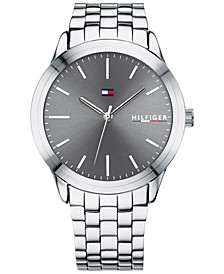 Men's Stainless Steel Bracelet Watch 42mm, Created for Macy's