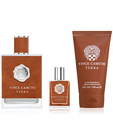 Vince Camuto Men's 3-Pc. Terra Eau de Toilette Gift Set