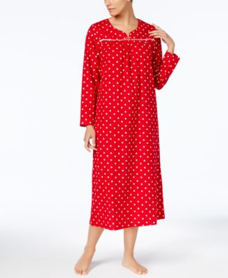 charter club flannel lacetrim nightgown created for macyu0027s - Flannel Nightgowns