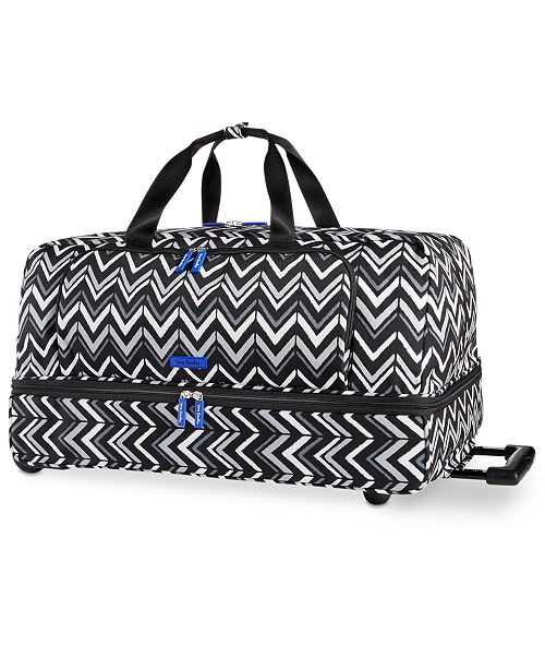 Vera Bradley Lighten Up Large Wheeled Duffle - Handbags ... a31bd86189