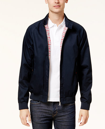 ben sherman core harrington jacket coats jackets men macy 39 s. Black Bedroom Furniture Sets. Home Design Ideas