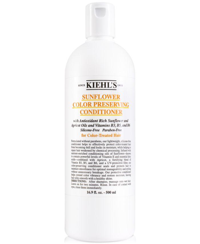 Kiehl's Since 1851 Sunflower Color Preserving Conditioner, 16.9-oz. & Reviews - Beauty - Macy's