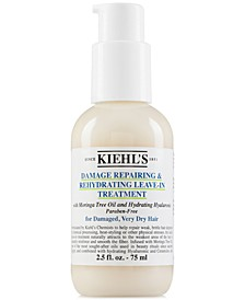 Damage Repairing & Rehydrating Leave-In Treatment, 2.5-oz