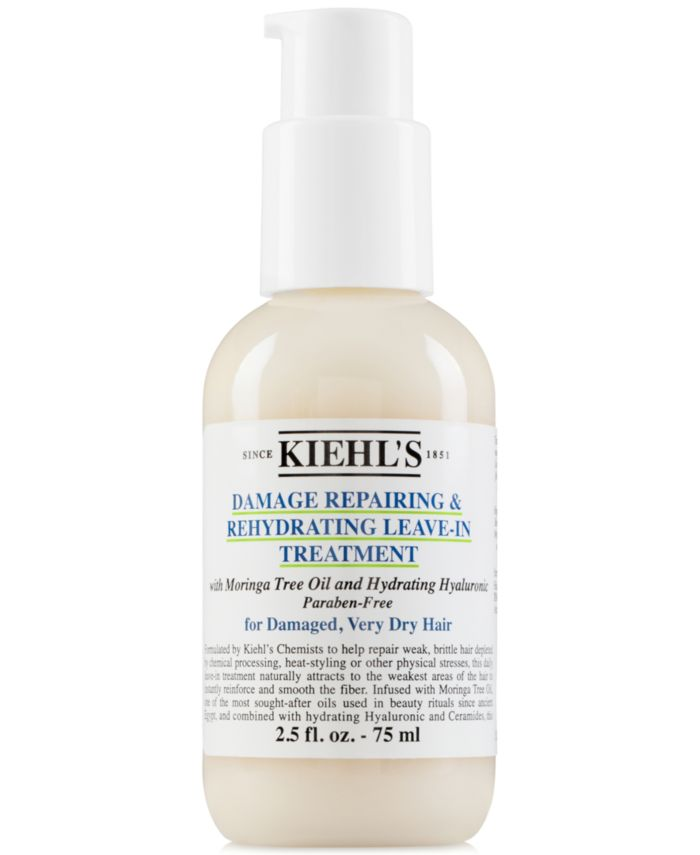 Kiehl's Since 1851 Damage Repairing & Rehydrating Leave-In Treatment, 2.5-oz & Reviews - Beauty - Macy's