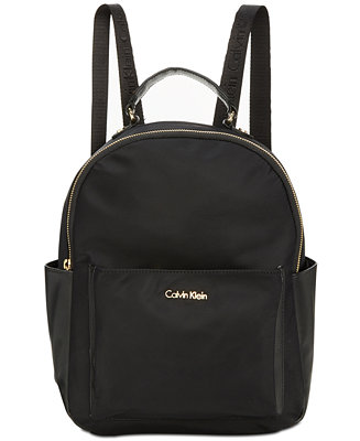 calvin klein collaboration small backpack handbags accessories macy 39 s. Black Bedroom Furniture Sets. Home Design Ideas