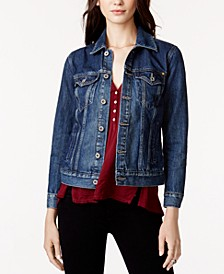 Cotton Denim Trucker Jacket