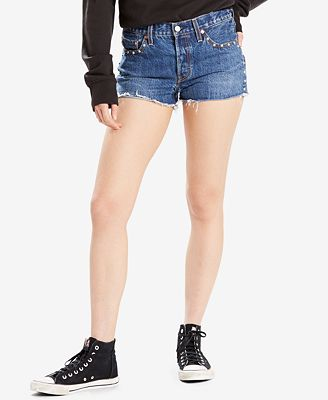 Levi's® Limited 501® Original Fit Cotton Denim Shorts, Created for Macy's