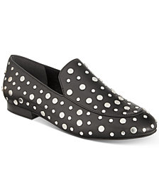 Kenneth Cole New York Westley Studded Smoking Flats
