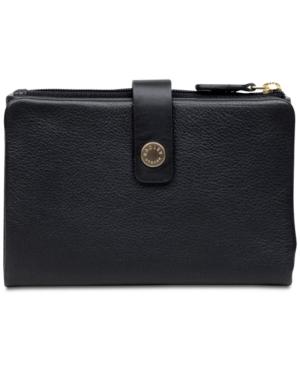 Image of Radley London Larks Wood Medium Tab Pebble Leather Wallet